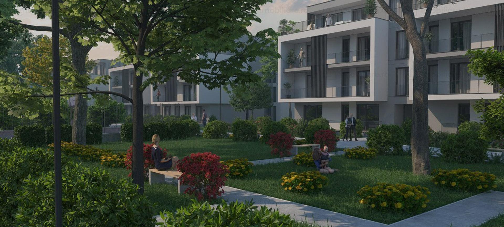 cartier privat ansamblu rezidential