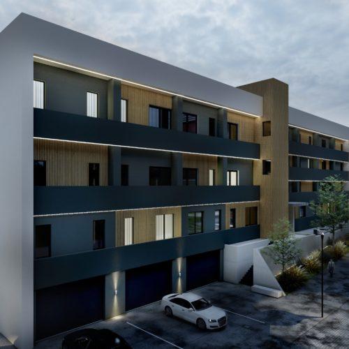 Ansamblu rezidential Baia Mare apartamente si garsoniere, a doua cladire, vedere laterala