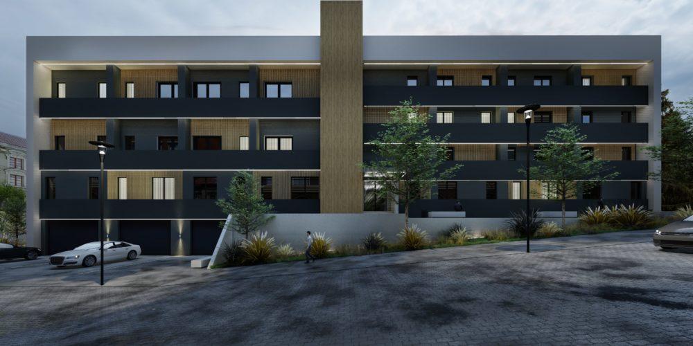 Ansamblu rezidential Baia Mare apartamente de vanzare Baia Mare 2 camere si garsoniere, a doua cladire, vedere din fata
