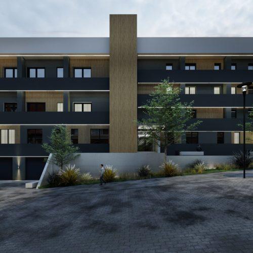 Ansamblu rezidential Baia Mare apartamente 2 camere si garsoniere, a doua cladire, vedere din fata