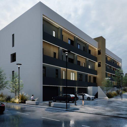 Ansamblu rezidential Baia Mare apartamente si garsoniere, a doua cladire, vedere lateral