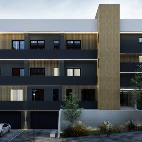 Ansamblu rezidential Baia Mare apartamente si garsoniere, a doua cladire, vedere din fata
