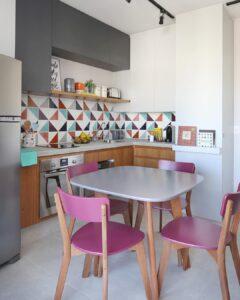 amenajare bucatarie - apartament pe 2 nivele