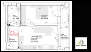 Plan apartament 35