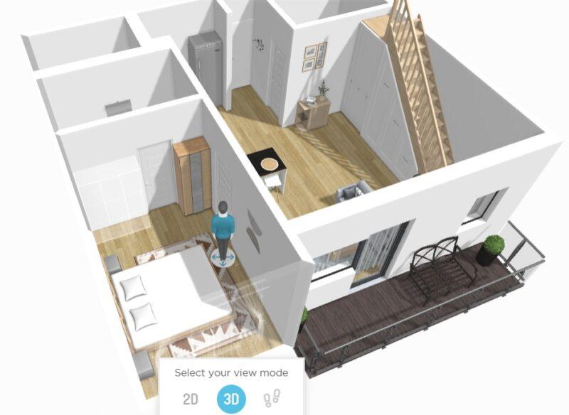 Casa la bloc – apartament cu 4 camere pe 2 nivele