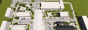 Plan cartier privat complex rezidential Parc Babes