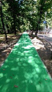 pista de atletism - distractii langa cartierul privat Parc Babes
