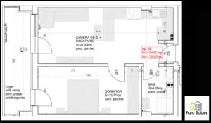 plan apartament 2 camere baia mare